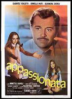 APPASSIONATA MANIFESTO FILM ORNELLA MUTI EROTICO 1975 PASSIONATE MOVIE POSTER 4F