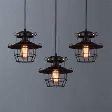 Ceiling Light Retro Metal Lampshade Vintage Pendant Lamp Chandelier Fixtures