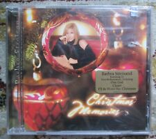 BARBRA STREISAND - CHRISTMAS MEMORIES CD 2001 Factory Sealed New