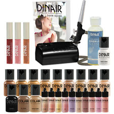 Dinair Airbrush Makeup Complete Kit | DOUBLE SHADE Range: FAIR to Medium SHADES