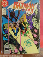 DC COMICS BATMAN YEAR THREE VOL 1 # 438 SEP 1989 CHANGES MADE PART 3 OF 4