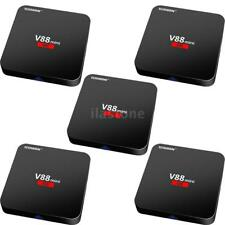 5x V88 mini Android 6.0 Smart TV Box 8GB RK3229 Quad-Core WIFI 4K H.265 UHD C7F6