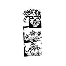 Vintage Crochet Pillowcase Pattern ~ Hearts