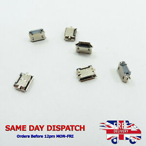 Type B Micro Female USB Socket DIP 5 pin Connector SMD