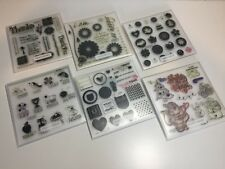 Lot of 6 New and Used Clear Mount Stamp Sets from Close to My Heart