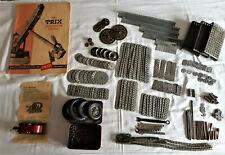 TRIX Metallbaukasten mit Motor und Anleitungsbuch