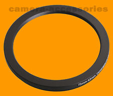 72mm to 62mm 72-62 Stepping Step Down Filter Ring Adapter 72-62mm 72mm-62mm (UK)