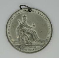 1819-1837 Queen Victoria Commemorative Medallion Medal T.W.Ingram,35mm,1838