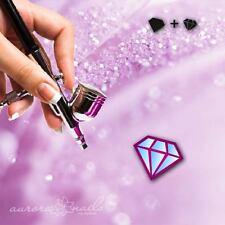 AEROGRAFO COLLA FORMINE M466 NAIL ART diamantata CRISTALLO lustrini GLAMOUR