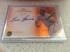 2014 TOPPS TRIBUTE TIM RAINES AUTO AUTOGRAPH SIGNED 22/40 WHITE SOX EXPOS HOF
