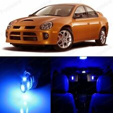 8 x Ultra Blue LED Interior Light Package Kit For Dodge Neon 2000 - 2005