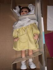 """WPM Waltershausers Lotte Muller 7 Of 500 Yellow Dress German Doll 13"""" COA New"""