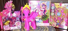 My Little Pony FIM Princess Cadence 6 Item Gift Set LOT Dress-Up & Figures