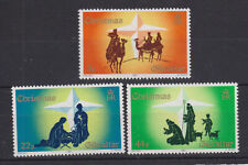 Gibraltar MNH STAMP SET 1987 CHRISTMAS SG 585-587
