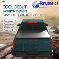Tri-Fold Tonneau Cover 5 Ft Short Bed Soft Folding For Nissan Frontier 2005-2019