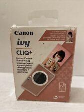 Canon IVY Cliq+ Instant Film Camera - Rose Gold  3879C001 NEW Box Opened