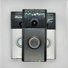Lot 3 Ring Wi-Fi Enabled Video Doorbell - Venetian Bronze,1st - For Parts/Repair