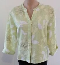 3/4 Sleeve Button Down Shirt Unbranded Hand-wash Only Tops & Blouses for Women
