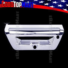 For Ford F150 2015 2016 2017 Chrome Tailgate Cover WITH Camera & Sensor w/out KH