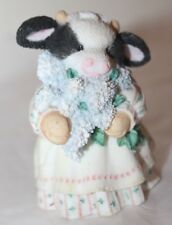 """Collectible Mary Moo Moos """"The Coming of Spring Brings Udder Joy"""" 1994/ Enesco"""