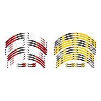 12 PCS/SET 17 Inch Motorcycle Rim Sticker Stripe Wheel Decals FIT BMW F700GS