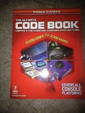 The Ultimate Code Cheat Prima book 27000 codes for 2500 games for Xbox,PS2,GC,GB