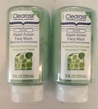 2 Clearasil PerfectaWash Face Wash Refill Soothing Plant Extracts