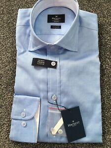 Hackett London Fulham Classic Fit Shirt Size M (15.5) RRP £100