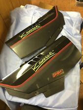 80-89 KAWASAKI NINJA 750 PAIR OF SIDE PANEL FAIRINGS