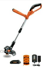 New String Trimmer Weed Wacker Grass Whip & Lawn Edger Cordless Battery Operated