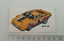 BMW RALLY / RACING CAR Vintage STICKER / AUTOCOLLANT / AUFKLEBER