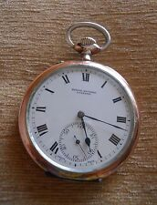 IWC Pocket Watch 1901 - 16 jewels SOLID SILVER - PLATA (195)