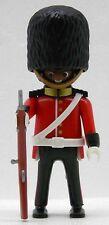 FARBIGER ROYAL GUARD SOLDAT A Playmobil zu 4577 Garde Briten Bärenfellmütze 1922
