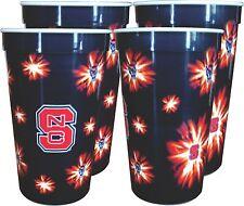 NC State Wolfpack 22 oz. Souvenir Cups (4 per set)