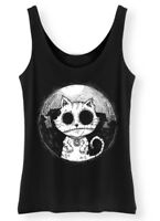 Zombie Cat - Tank Top Womens ladies Goth Rock Kitty Corpse Afterlight Clothing