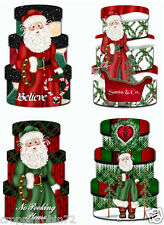 SET OF 8 CHRISTMAS (46) SCRAPBOOK CARD EMBELLISHMENTS HANG GIFT TAGS