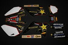 SUZUKI RMZ 450 2008-2017 ROCKSTAR MX GRAPHICS KIT DECAL KIT STICKER KIT STICKERS