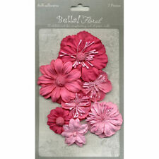 Paper scrapbooking flower embellishments for sale ebay shop by color mightylinksfo