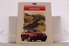 "1997 Ford Mustang & Mustang GT Dealer Brochure 9"" x 11"" Mint"