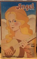 ANGEL - 1978 Broadway Poster Windowcard