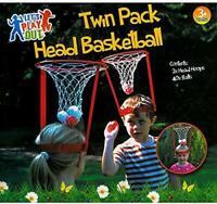 Testa Basket Pacco Doppio Bambini Giardino Esterno Gioco Giochi Palline Sfera