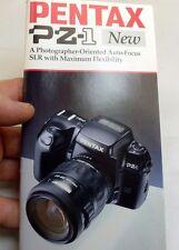 Pentax PZ-1 FA accessory Guide  Brochure English