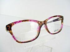 NEW LIU JO  LJ 2658R (539) Orchid Brown Camouflage 53 x 16 135 mm Eyeglass Frame