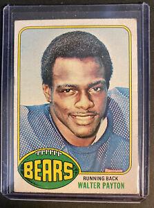 WALTER PAYTON CHICAGO BEARS HOF ROOKIE CARD #148 RC SP 1976 TOPPS FOOTBALL