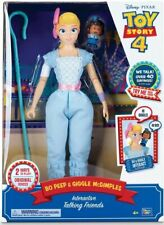 Toy Story 4 Feature Talking Bo PEEP 14in With Mcdimple From Mr Toys