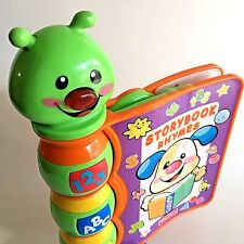 Caterpillar Storybook Rhymes Electronic Interactive Kids Book and Learning Toy