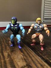 Vintage MOTU He-Man and Skeletor 1980?s
