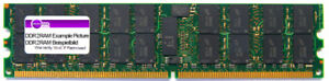 2GB Elpida DDR2 Server RAM 400MHz PC2-3200R ECC Reg EBE20RE4AAFA-4A-E Memory