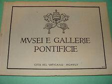 Vatican 1945 Musei e Gallerie Pontificie Art Treasures Pontifical Museum Italy