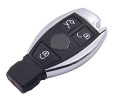 For MERCEDES BENZ 3 BUTTON SMART KEY FOB REMOTE CHROME CASE